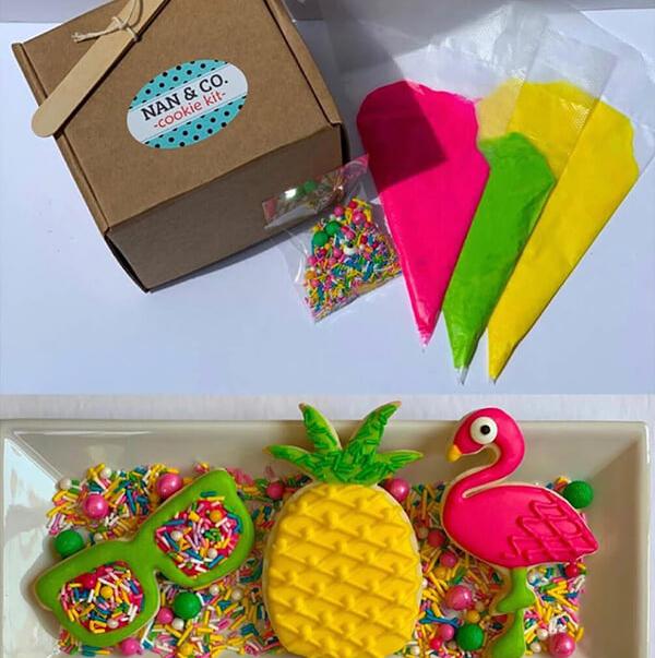 Cookie kit display